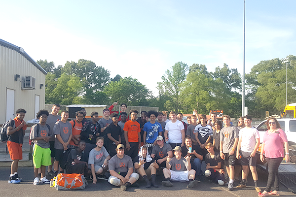bringing snacks and refreshments to middleton high school football